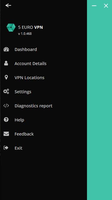 Képernyőkép az irányítópultról