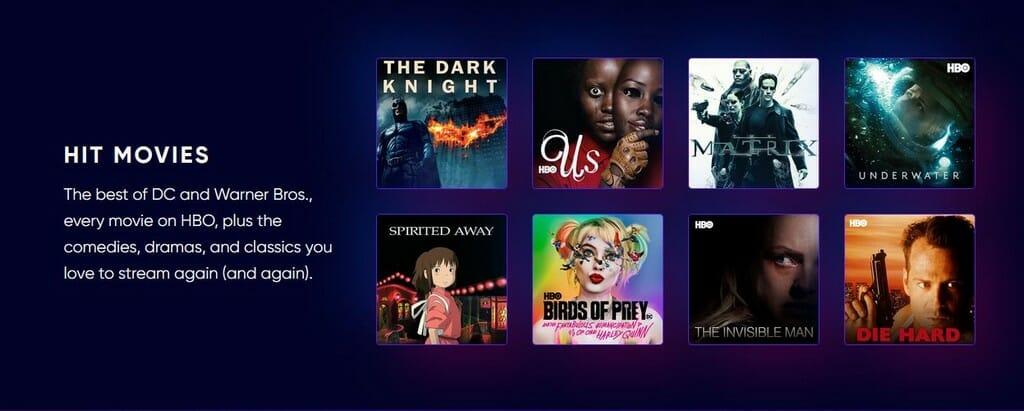 A legjobb filmek az HBO-n