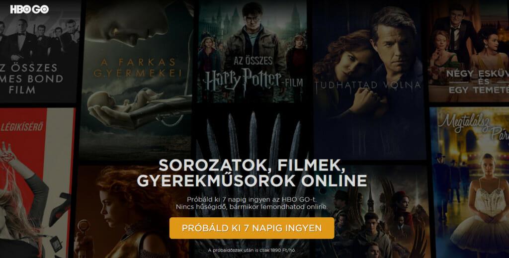 Magyar HBO GO
