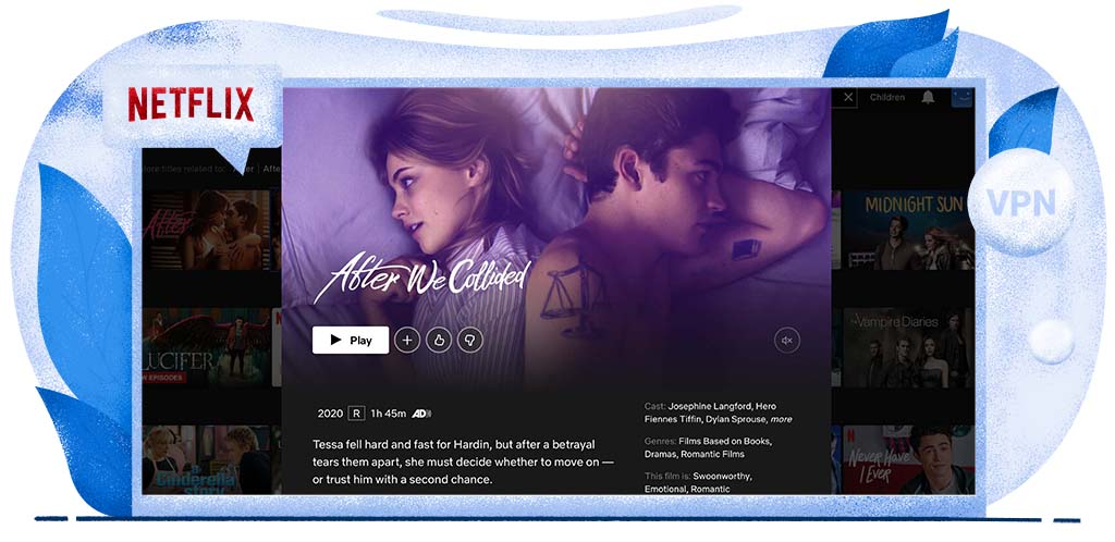 After We Collided is op Amerikaanse Netflix te zien