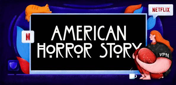 Come vedere American Horror Story su Netflix?