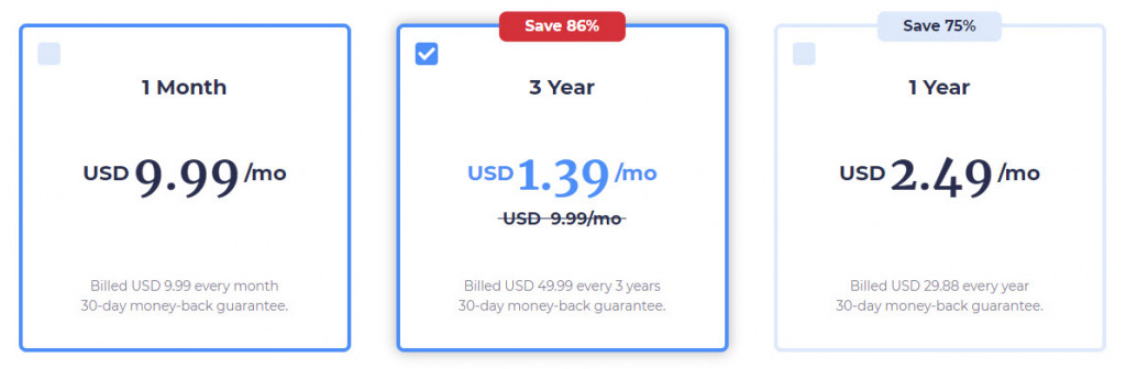 Atlas VPN subscription plans and prices