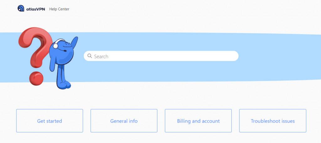 Atlas VPN help center