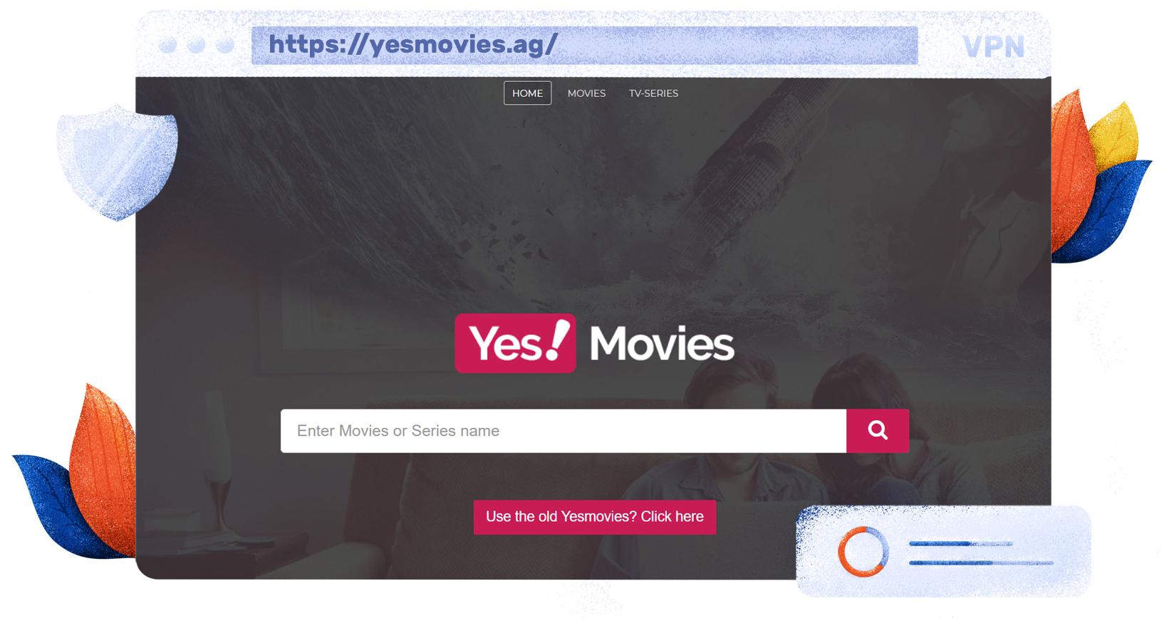 YesMovies darmowa strona streamingowa