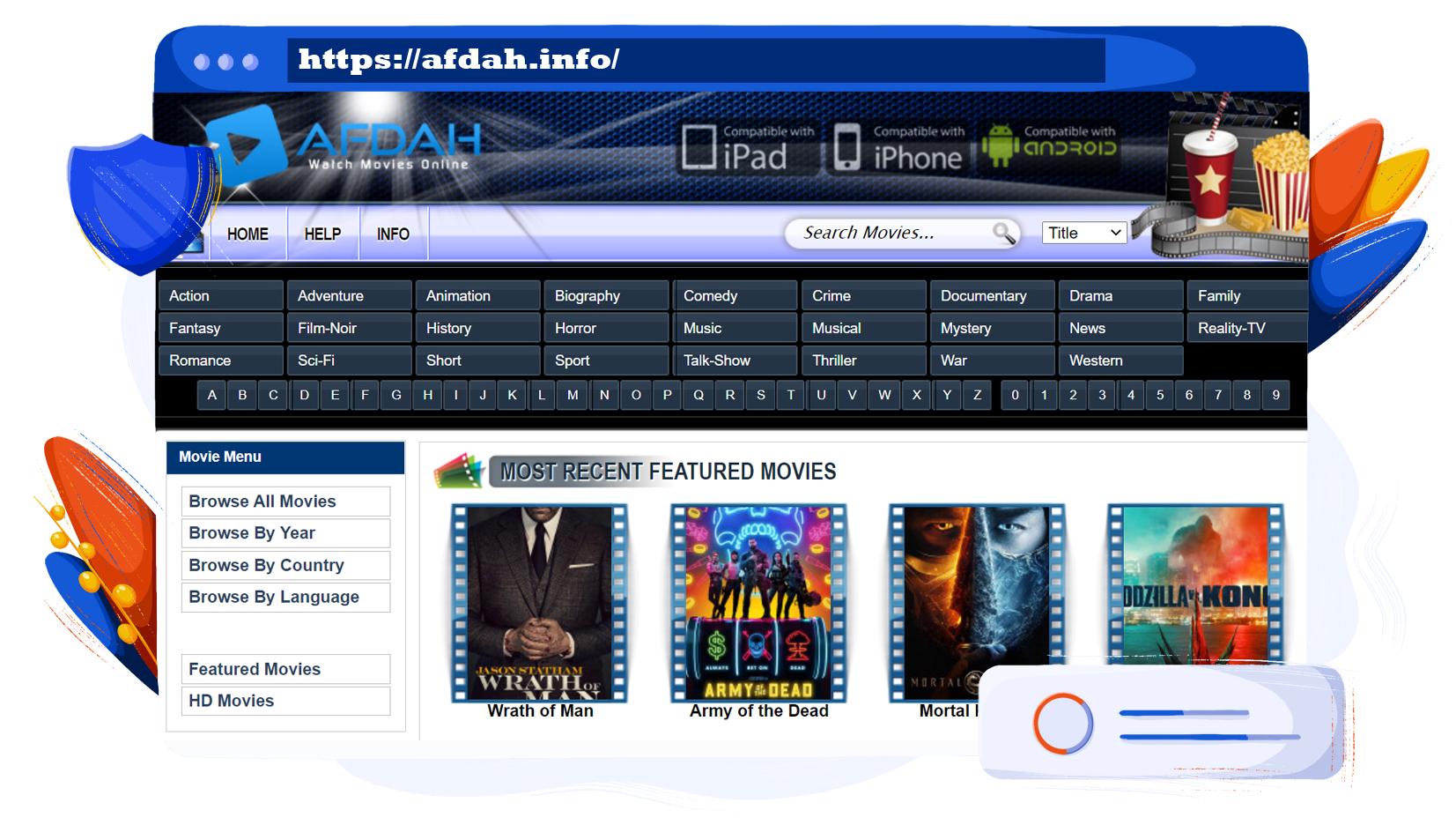 Stream filmek és TV műsorok az Afdah-on ingyenesen