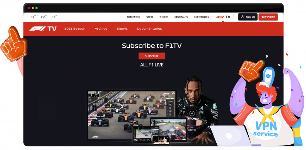 Formule 1 op F1 TV kijken 2021