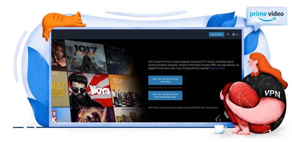 Amazon Prime Video platforma streamingowa