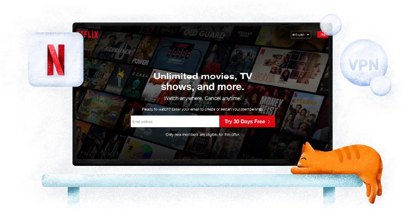 Netflix streaming service