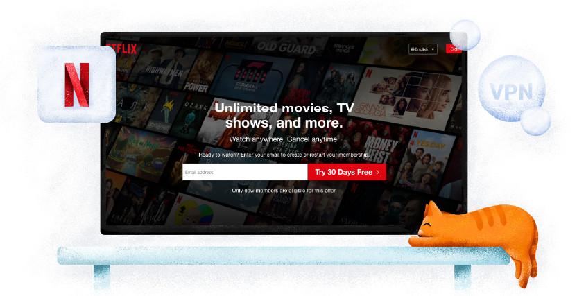 Netflix usługa streamingowa