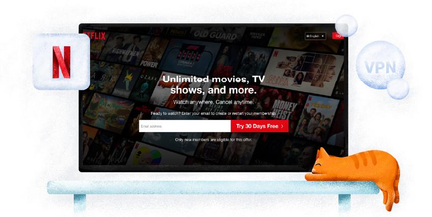 Netflix streaming szolgáltatás
