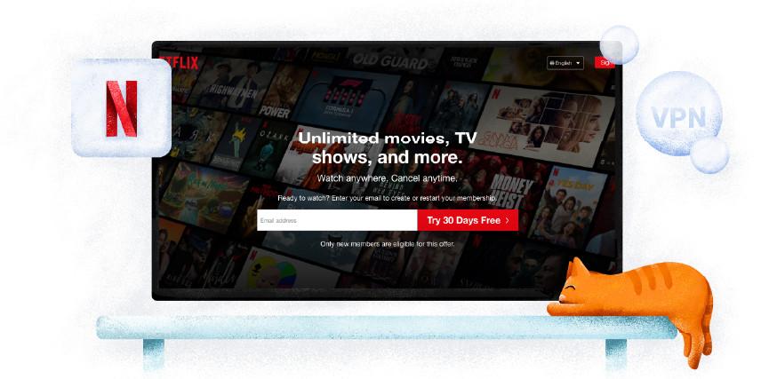 Servizio di streaming di Netflix