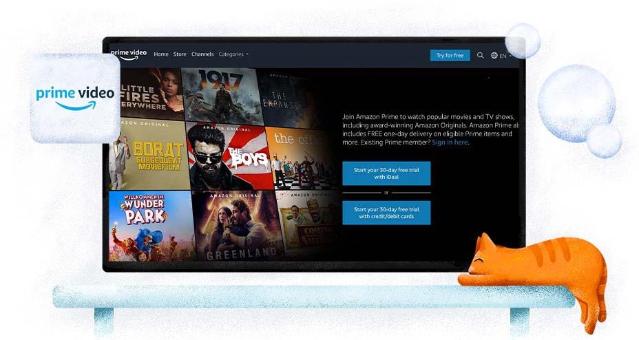 Amazon Prime Video - usługa transmisji strumieniowej online