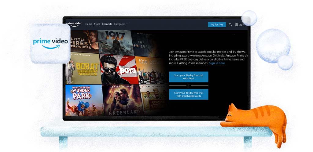 Servizio di streaming online Amazon Prime Video