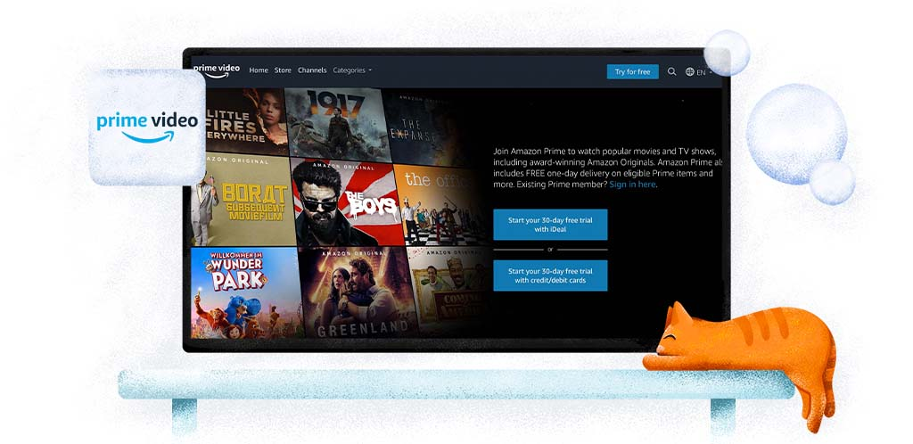 Amazon Prime Video online streaming service