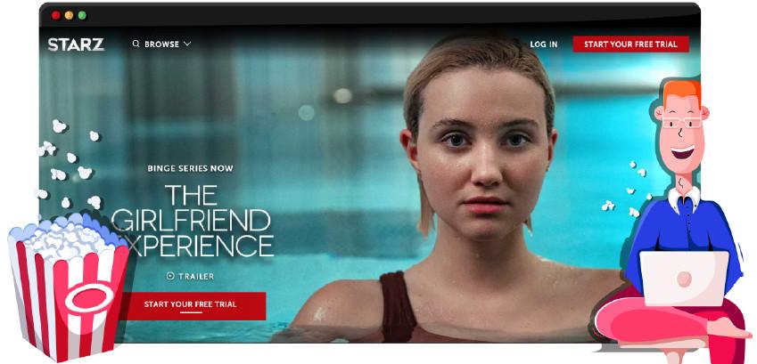 Sieć telewizyjna Starz emituje własne oryginalne produkcje
