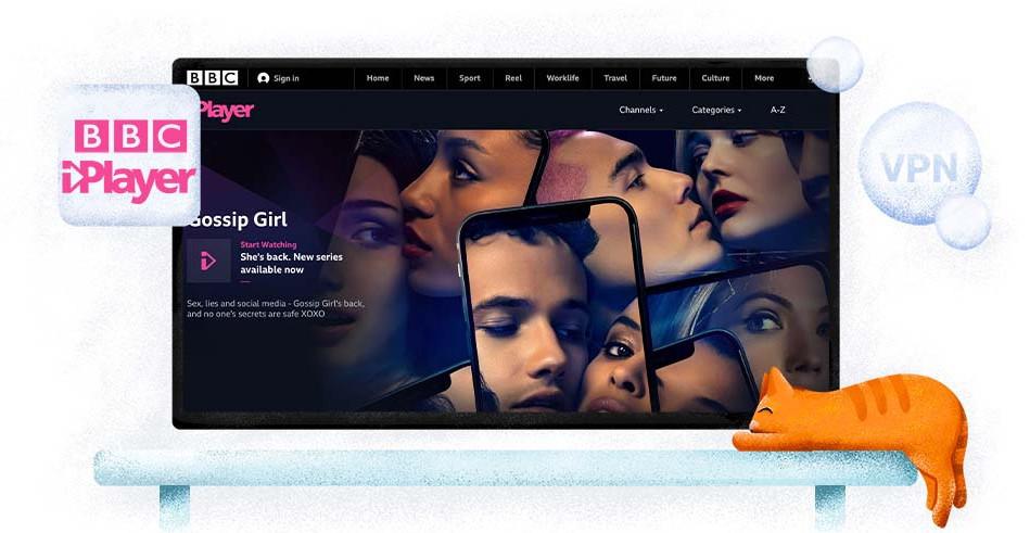 BBC iPlayer streaming British TV shows