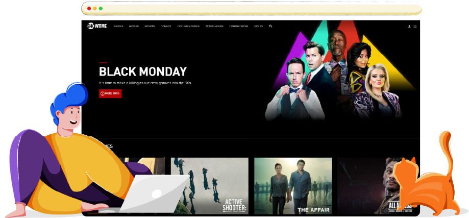 Showtime online streaming platform