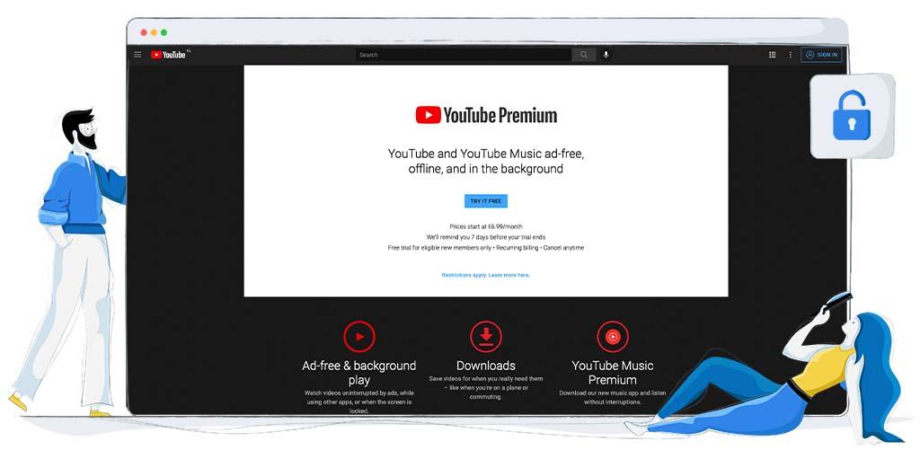 Youtube Premium streaming original content