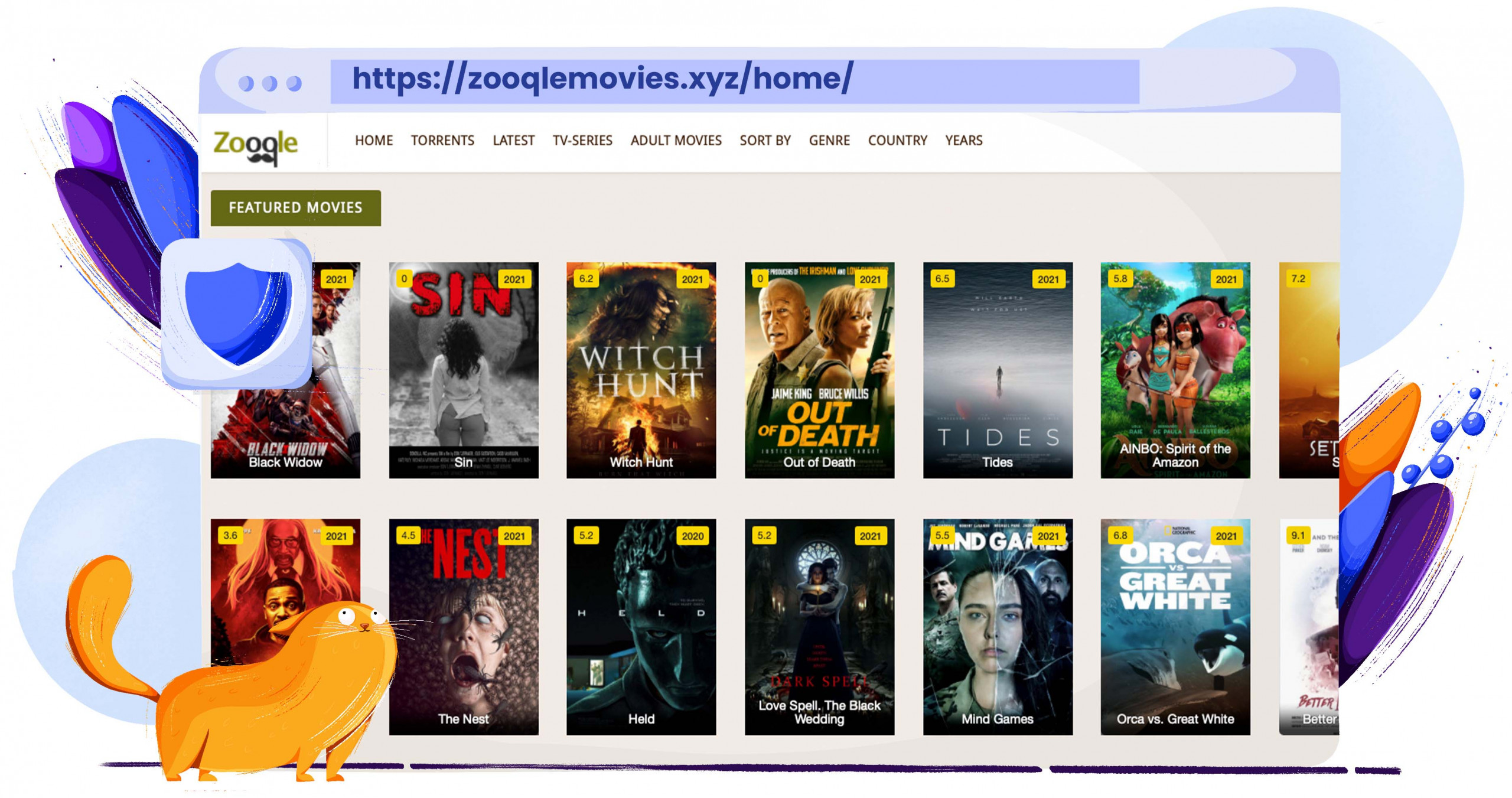 Zooqle torrenting entertainment and software