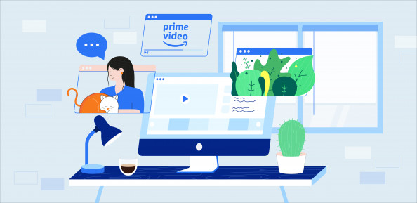 Wie können Sie Amazon Prime Video im Ausland ansehen?