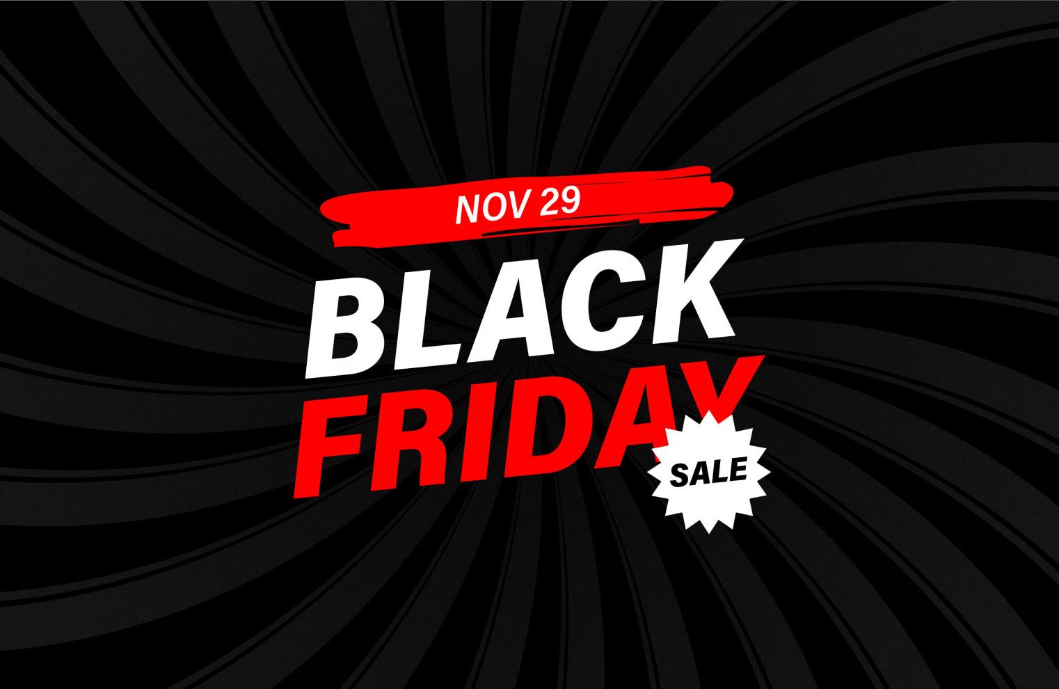 banner for Black Friday VPN sale
