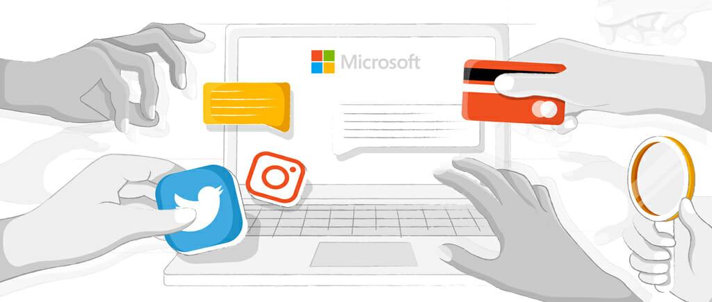 Microsoft verkoopt jouw informatie aan adverteerders