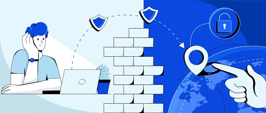 Using a VPN to bypass geoblocks