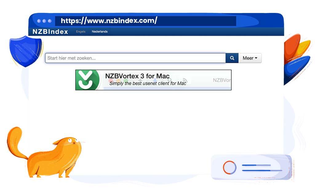 NZBIndex is een Usenet zoekmachine