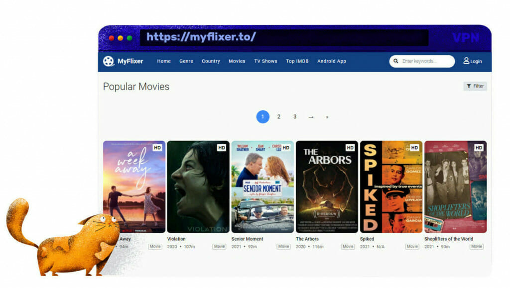 MyFlixer-streamingwebsite
