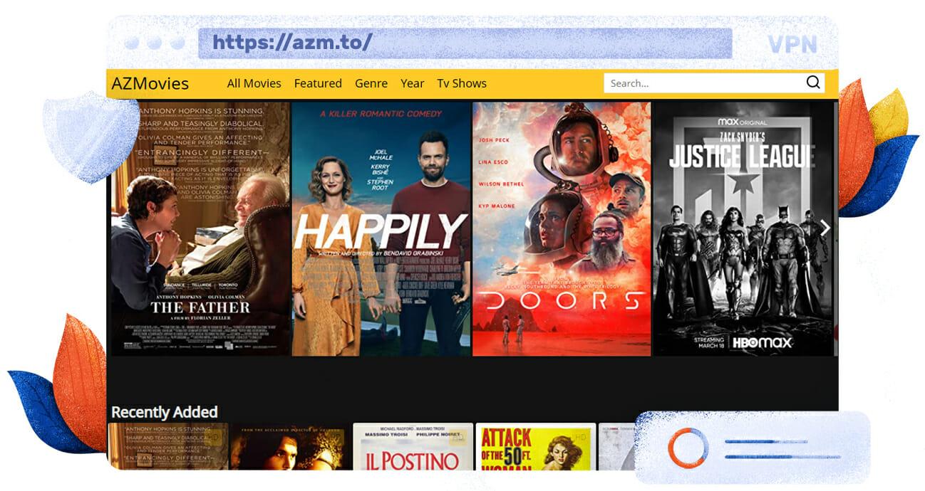 Oglądaj filmy na AZMovies