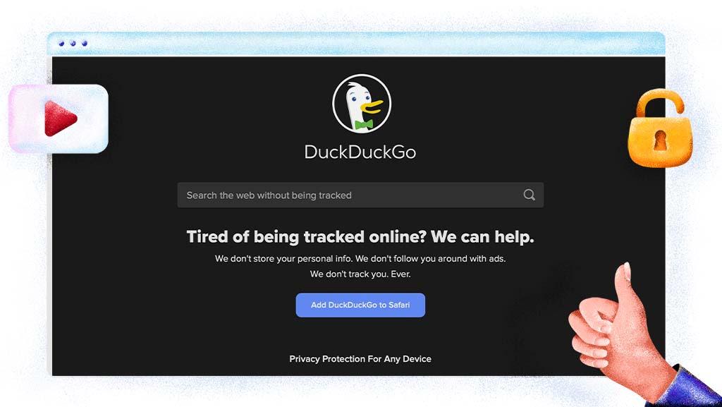 Gebruik DuckduckGo voor toegang tot geblokkeerde sites