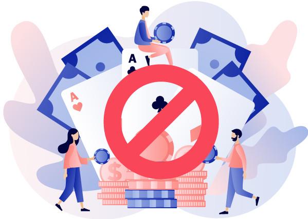 Online gokken is in Nederland verboden