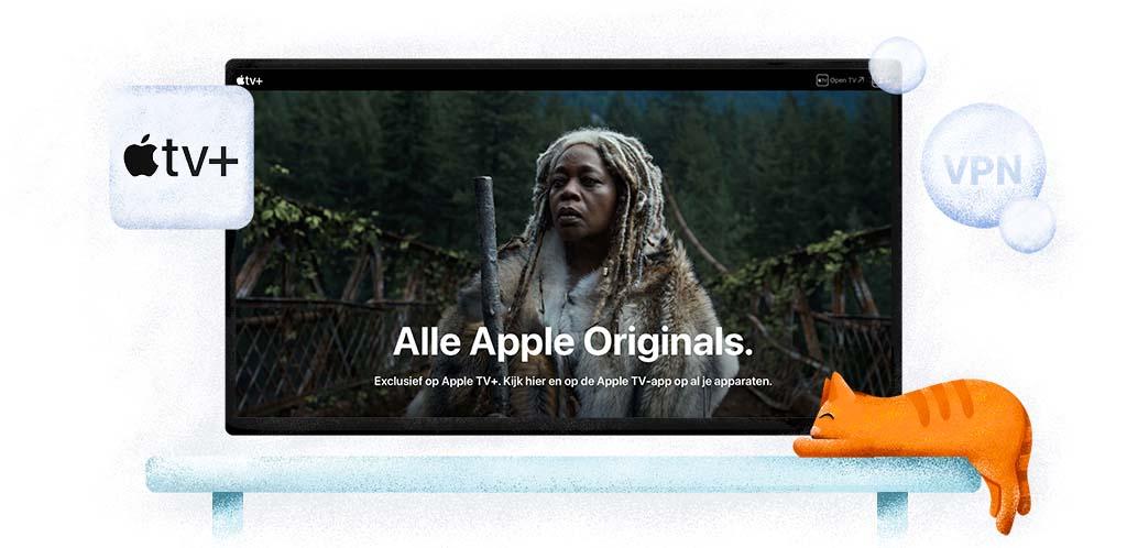 Kijk alle Apple TV Plus series met een VPN