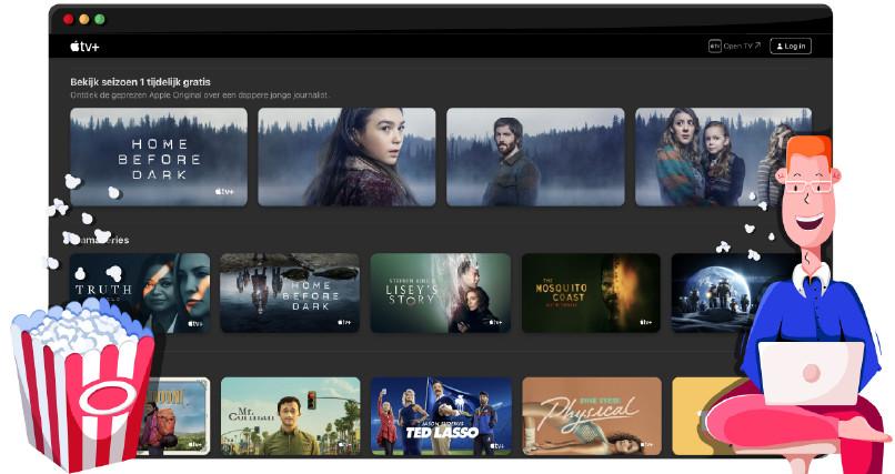 Apple TV Plus streamt originele TV serien