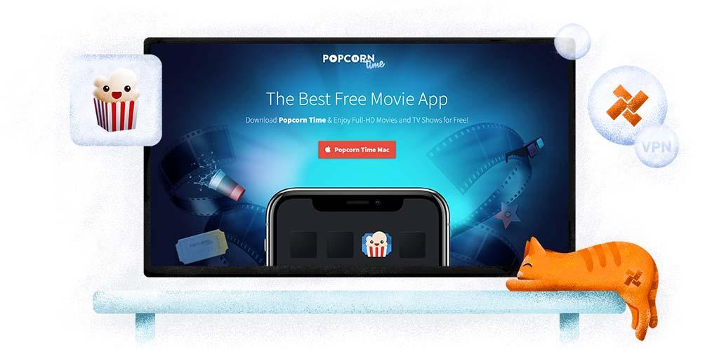 Gebruik Popcorn Time met een VPN