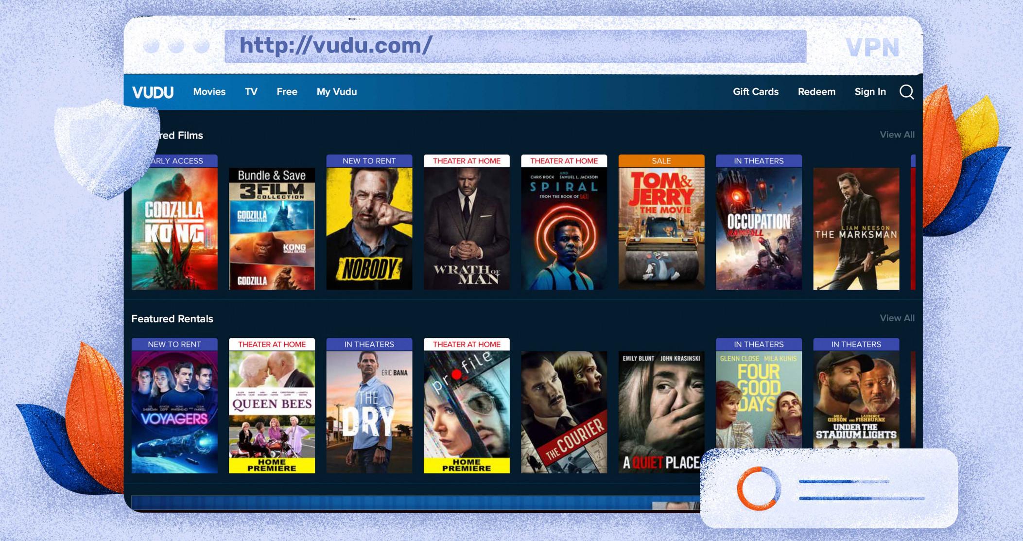 Vudu TV ist ein beliebter kostenloser Streaming-Dienst