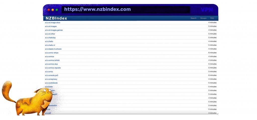 Sie können Dateien kostenlos auf NZBIndex herunterladen