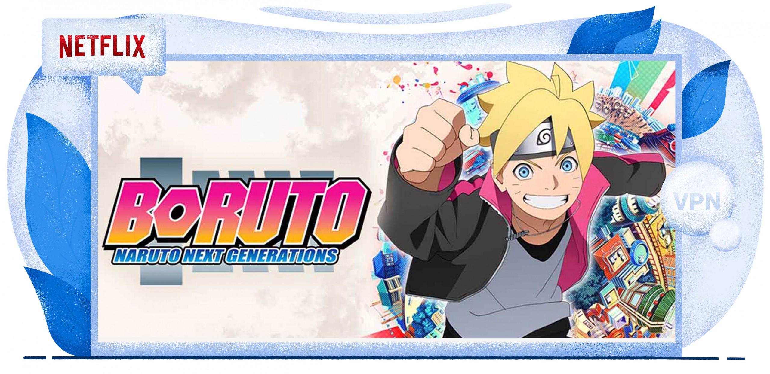 Netflix streamt Boruto: Naruto Next Generation in Frankreich