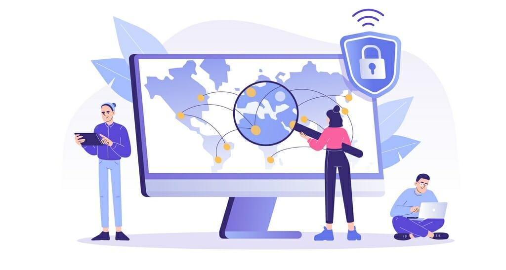 A good VPN needs a huge server network