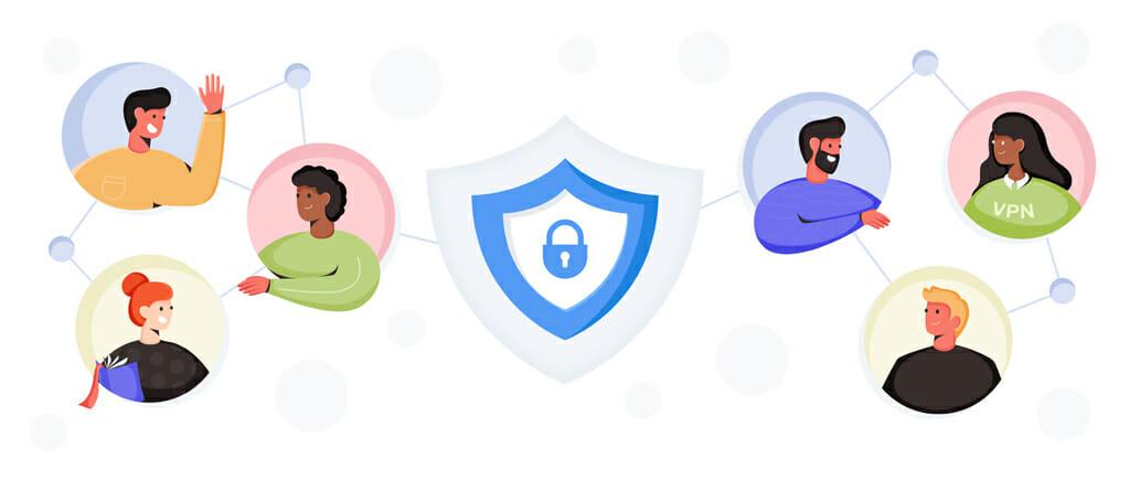 Veilige P2P-verbinding met VPN