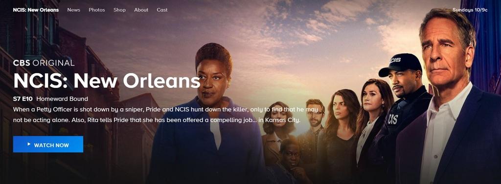 Angebot an Serien über CBS