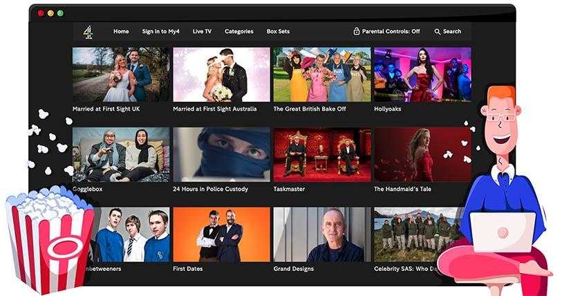 Kijk alle Channel 4 programma's met een VPN
