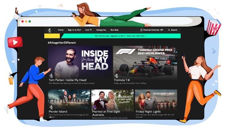 Channel 4 Britse streamingdienst