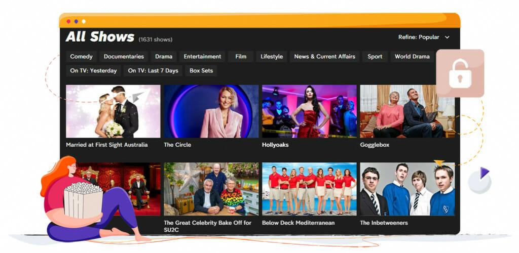 Programy komediowe na Channel 4 UK