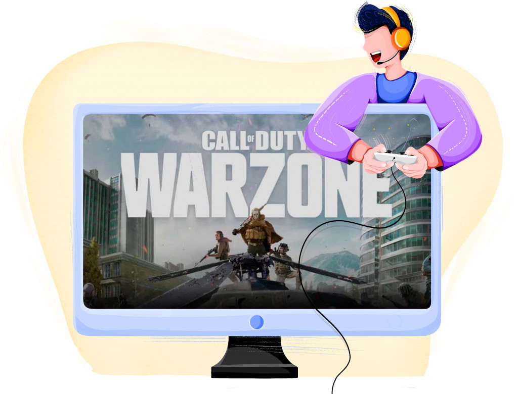 Call of Duty Warzone battle royale style game