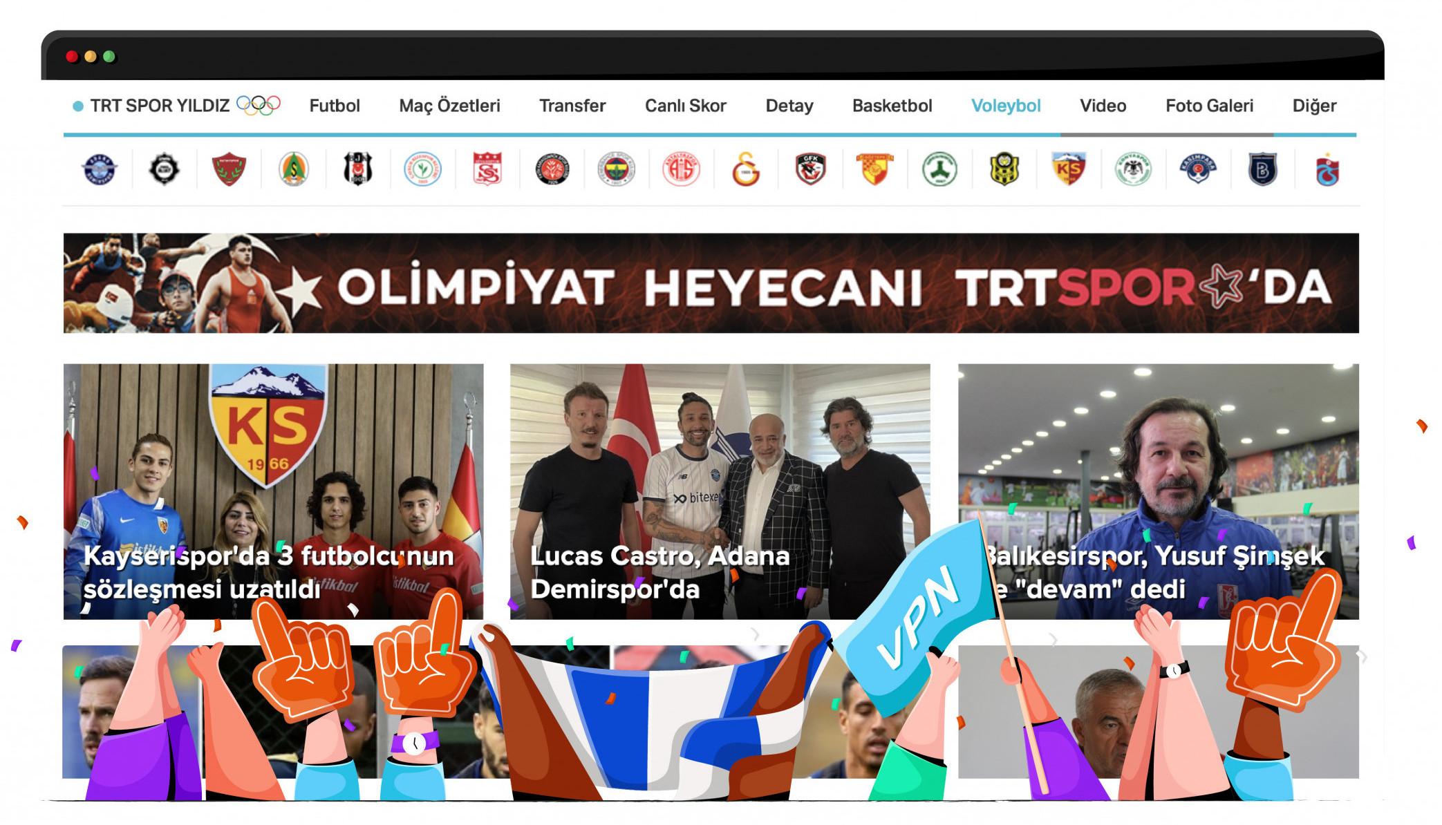 TRT Spor, spor karşılaşmalarını ücretsiz yayınlıyor