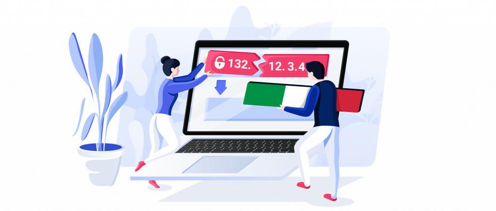 Ottenere un IP italiano