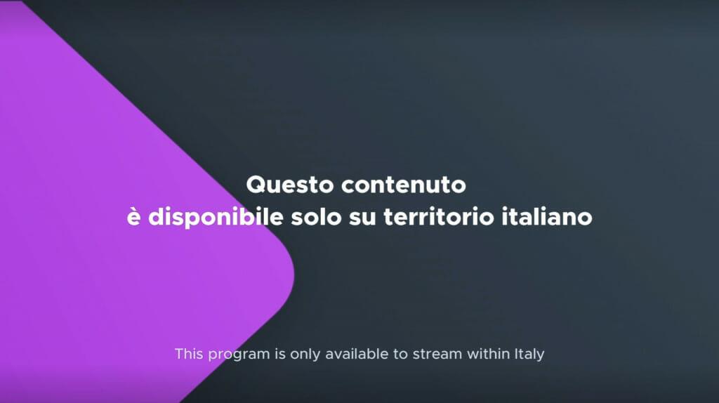 Come guardare Mediaset Play all'estero