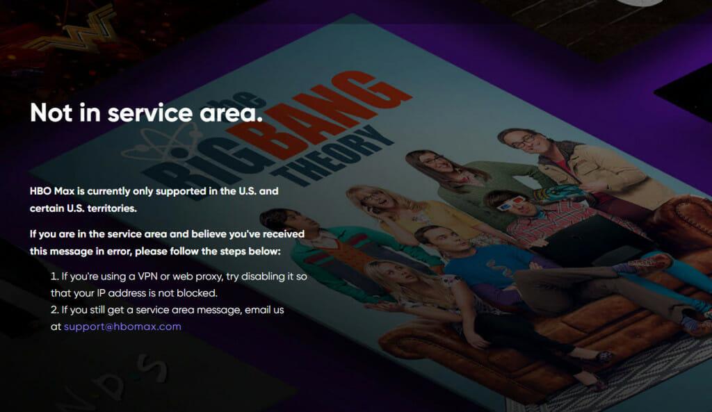 Omiń ograniczenia geograficzne HBO Max