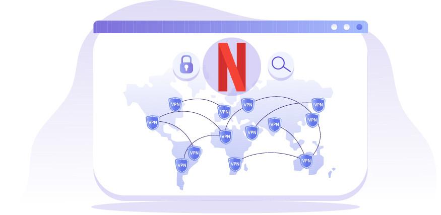 Odblokowywanie innych bibliotek Netflix za pomocą VPN